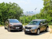 爱卡SUV专业测试 斯柯达Yeti对起亚KX5