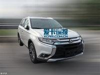曝广汽三菱欧蓝德实车 预计8月下旬上市