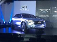 英菲尼迪全新QX50消息 将巴黎车展发布
