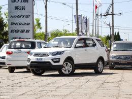 新生代运动大7座车 爱卡测试长安CX70