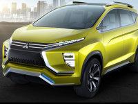 三菱新XM概念车官图  MPV与SUV的混搭?