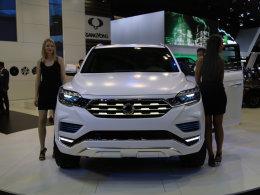 双龙全新LIV-2概念车 2016巴黎车展首发