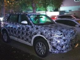华晨中华全新中型SUV谍照 有望推7座版
