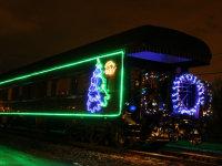 开往北极的圣诞列车今晚到达蒙特利尔