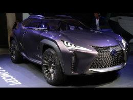 未来感十足 雷克萨斯UX广州车展将发布