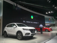 2016广州车展:荣威eRX5插电混动版上市