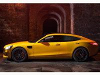 奔驰AMG GT 4假想图曝光 Panamera接招