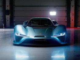 纽北7分05秒 蔚来发布最强电动跑车EP9
