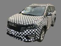 比速全新7座SUV比速H50谍照 将明年上市