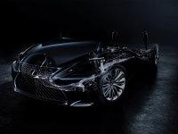 全新雷克萨斯LS预告图 将北美车展首发