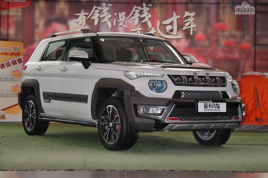 硬派自主SUV来袭 北京BJ20实拍解析