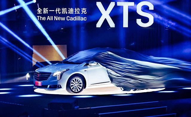 实拍全新一代凯迪拉克款XTS
