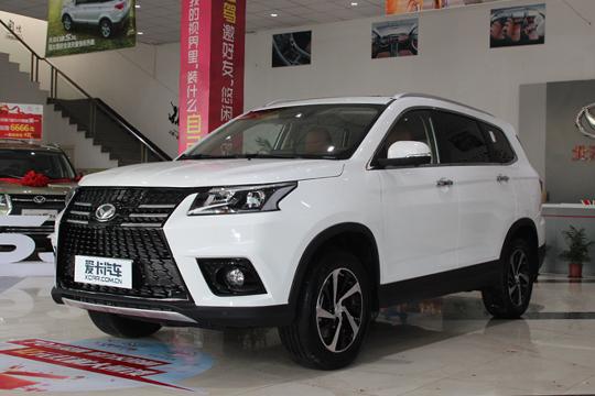 7座SUV新将 无锡吉名北汽幻速S7到店实拍