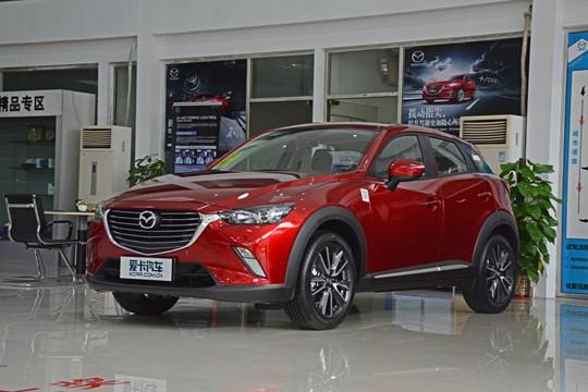 15万买进口小型SUV 爱卡实拍马自达CX-3