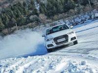 壁虎漫步 奥迪全新一代A4L冰雪试驾体验