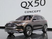 英菲尼迪全新QX50概念车北美车展发布