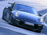 将提供手动车型 新款保时捷911 GT3谍照