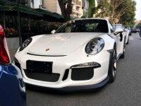 今天在路上活捉了Porsche 911 GT3 RS