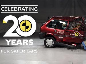 挽救八万条生命 Euro NCAP迎来20岁生日
