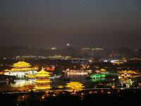 浓情美韵——西安春节美景与璀璨夜色