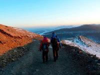 冬天徒步——五台山
