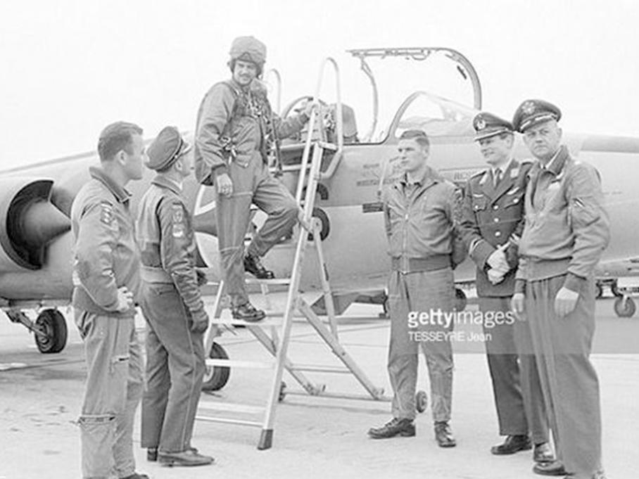 1966年西德空军飞行员试飞