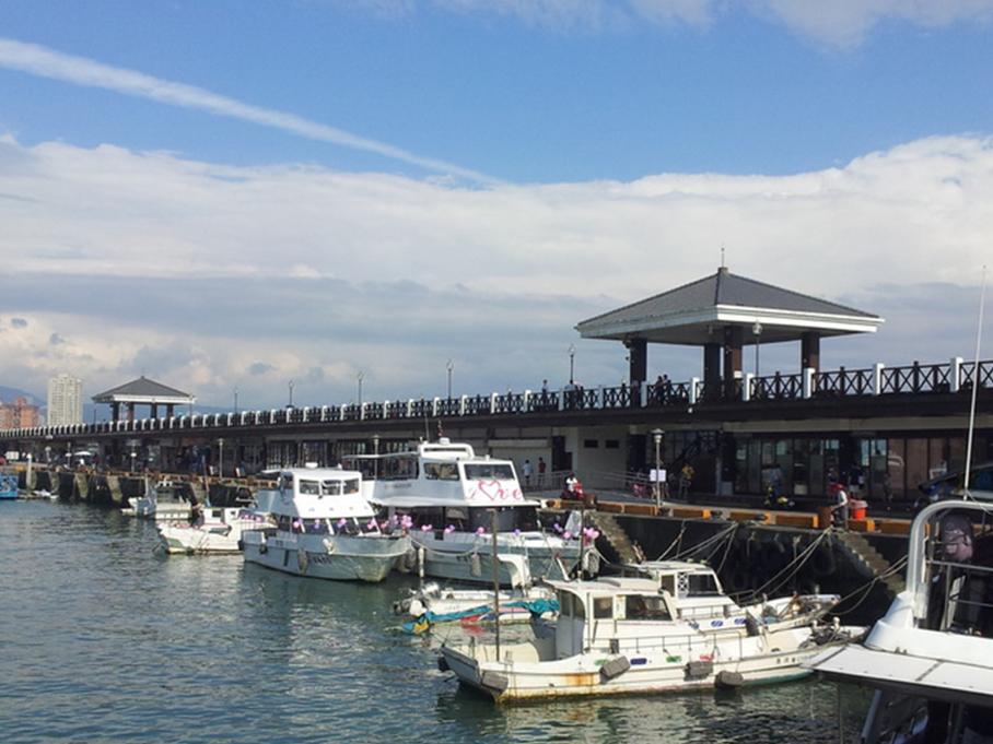 渔人码头 淡水风情