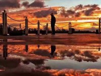 如此美的滇池黄昏