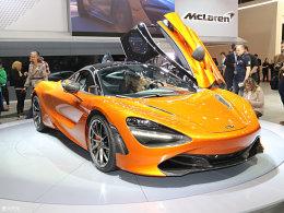 迈凯伦720S日内瓦发布 搭4.0L V8发动机