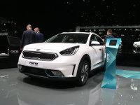 2017日内瓦车展 起亚Niro插电混动发布