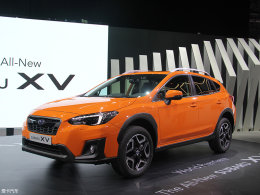 2017日内瓦车展:斯巴鲁新一代XV发布