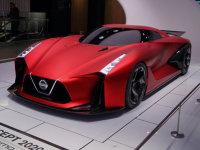 东京府银座五丁目Nissan概念车