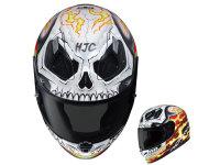 死侍与恶灵骑士版花加入HJC漫威头盔