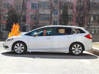 看完才知道 小孩在车内着火了应这么救