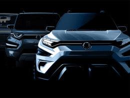 2017日内瓦车展:双龙XAVL概念车型发布