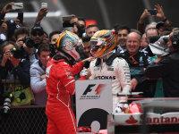 汉密尔顿获上海F1冠军