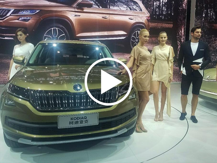 #上海车展零距离#--车展上的另类之美
