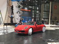 上海车展探馆:保时捷新911 Targa 4 GTS