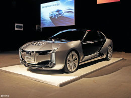 异军突起! 观致Model K-EV概念车实拍