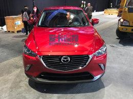 2017上海车展探馆:马自达CX-3抢先实拍