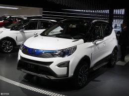 2017上海车展:比亚迪元EV纯电动版车型