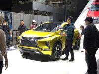 上海车展探馆:三菱eX概念车/跨界SUV