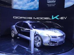 2017上海车展:观致Model K-EV实车亮相