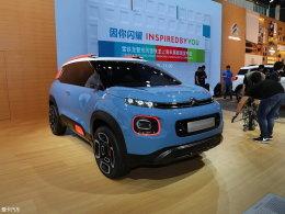 2017上海车展:雪铁龙C-Aircross概念车