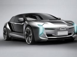 观致电动概念车Model K-EV上海车展亮相