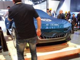 上海车展探馆:正道H600概念车抢先拍