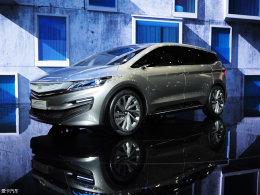 2017上海车展:吉利MPV概念车正式发布