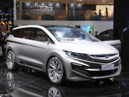 2017上海车展 吉利MPV概念车静态评测