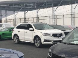 2017上海车展探馆:讴歌新款MDX抢先曝