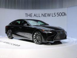2017上海车展 雷克萨斯LS 500h国内首发
